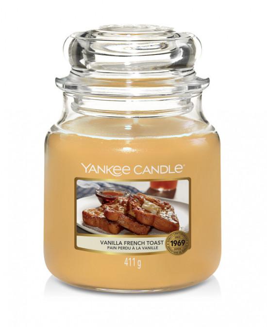 Aromatická svíčka, Yankee Candle Vanilla French Toast, hoření až 75 hod-4947