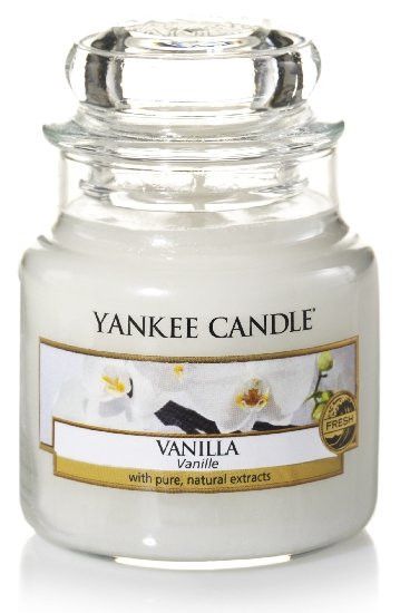 Aromatická svíčka, Yankee Candle Vanilla, hoření až 30 hod-1204