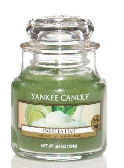Aromatická svíčka, Yankee Candle Vanilla Lime, hoření až 30 hod-149