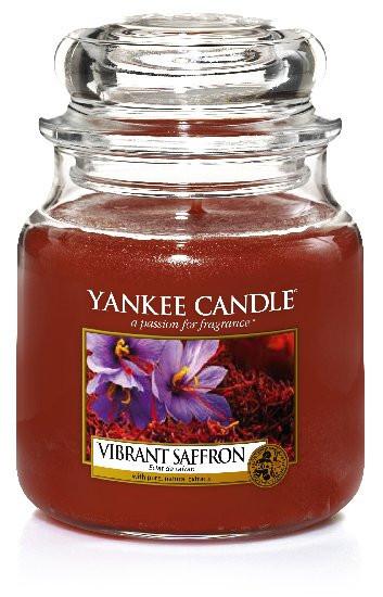 Aromatická svíčka, Yankee Candle Vibrant Saffron, hoření až 75 hod-434