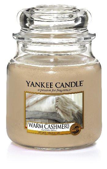 Aromatická svíčka, Yankee Candle Warm Cashmere, hoření až 75 hod-666