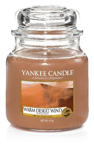 Aromatická svíčka, Yankee Candle Warm Desert Wind, hoření až 75 hod-449