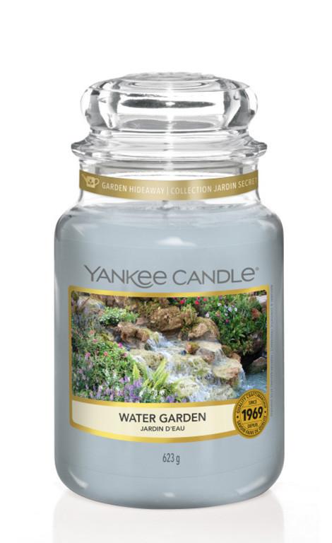 Aromatická svíčka, Yankee Candle Water Garden, hoření až 150 hod-4873