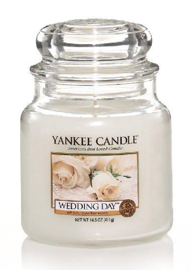 Aromatická svíčka, Yankee Candle Wedding Day, hoření až 75 hod-1230