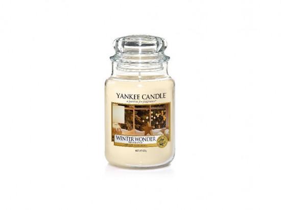 Aromatická svíčka, Yankee Candle Winter Wonder, hoření až 150 hod-3383