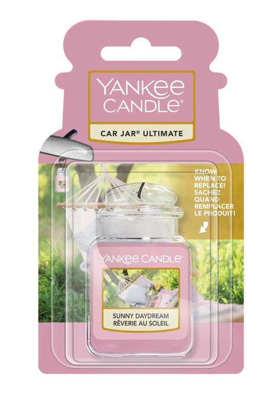 Aromatická visačka do auta, Yankee Candle Sunny Daydream, gelová, provonění až 4 týdny-331