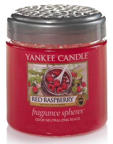 Aromatické perly, Yankee Candl Spheres Red Raspberry, provonění až 4 týdny