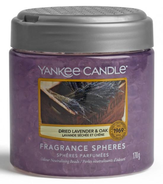 Aromatické perly, Yankee Candle Spheres Dried Lavender & Oak, provonění až 4 týdny-675