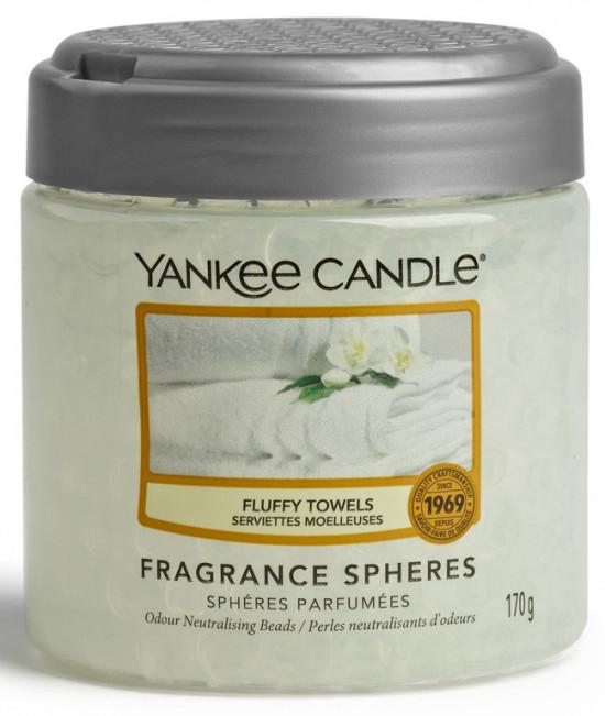 Aromatické perly, Yankee Candle Spheres Fluffy Towels, provonění až 4 týdny-1018