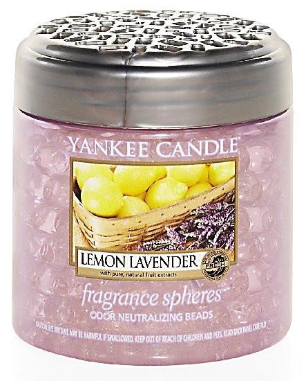 Aromatické perly, Yankee Candle Spheres Lemon Lavender, provonění až 4 týdny