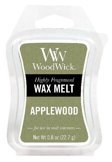 Aromatický vosk, WoodWick Applewood, provonění minimálně 8 hod