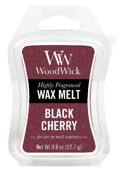 Aromatický vosk, WoodWick Black Cherry, provonění minimálně 8 hod-628