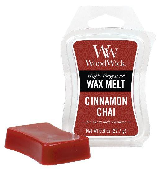 Aromatický vosk, WoodWick Cinnamon Chai, provonění minimálně 8 hod-1026