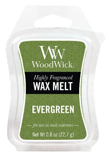 Aromatický vosk, WoodWick Evergreen, provonění minimálně 8 hod-144