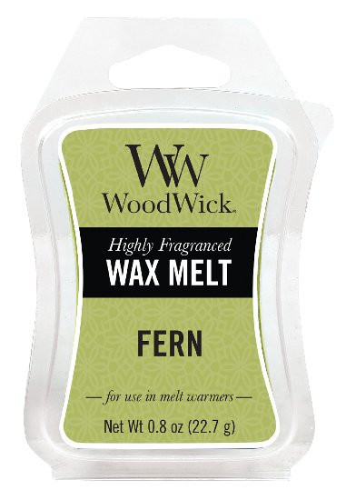 Aromatický vosk, WoodWick Fern, provonění minimálně 8 hod-662