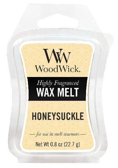 Aromatický vosk, WoodWick Honeysuckle, provonění minimálně 8 hod