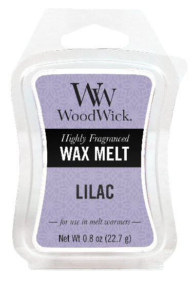 Aromatický vosk, WoodWick Lilac, provonění minimálně 8 hod