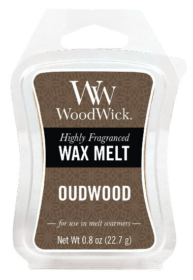Aromatický vosk, WoodWick Oudwood, provonění minimálně 8 hod-1182