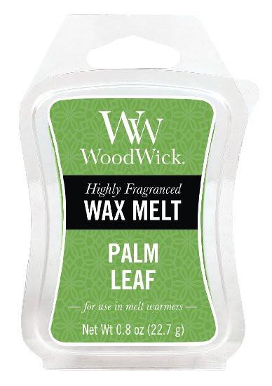 Aromatický vosk, WoodWick Palm Leaf, provonění minimálně 8 hod-961