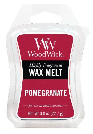 Aromatický vosk, WoodWick Pomegranate, provonění minimálně 8 hod