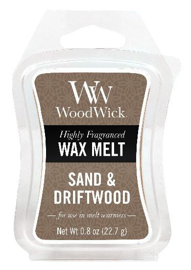Aromatický vosk, WoodWick Sand & Driftwood, provonění minimálně 8 hod-387