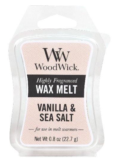Aromatický vosk, WoodWick Sea Salt Vanilla, provonění minimálně 8 hod-1085
