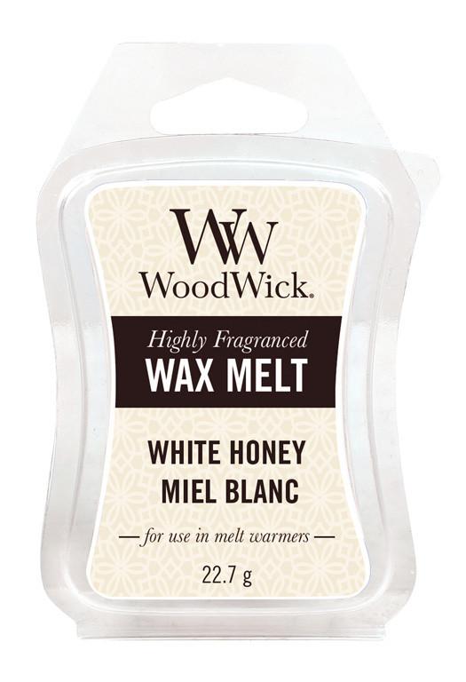 Aromatický vosk, WoodWick White Honey, provonění minimálně 8 hod-1003
