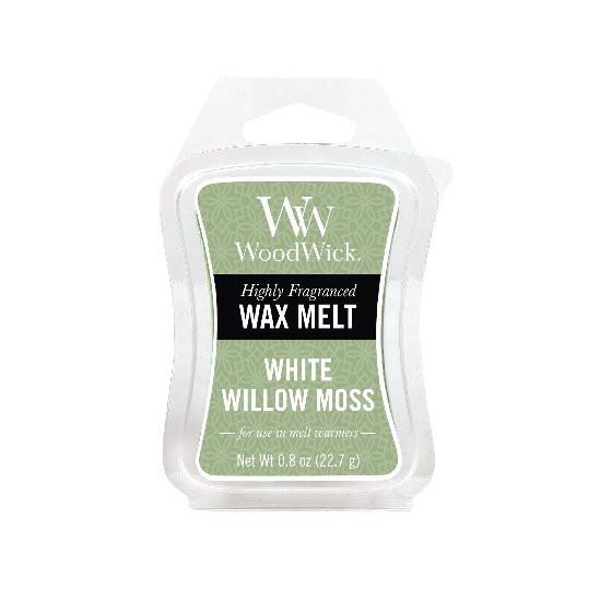Aromatický vosk, WoodWick White Willow Moss, provonění minimálně 8 hod-423