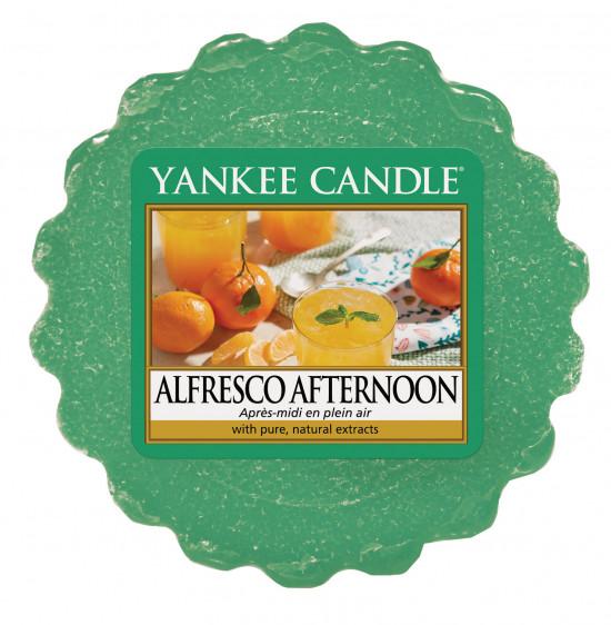 Aromatický vosk, Yankee Candle Alfresco Afternoon, provonění až 8 hod