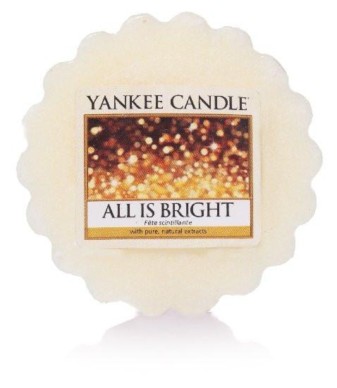Aromatický vosk, Yankee Candle All is Bright, provonění až 8 hod