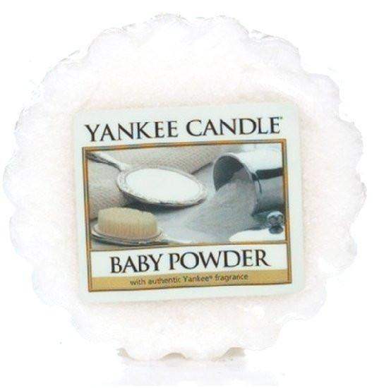 Aromatický vosk, Yankee Candle Baby Powder, provonění až 8 hod-1180