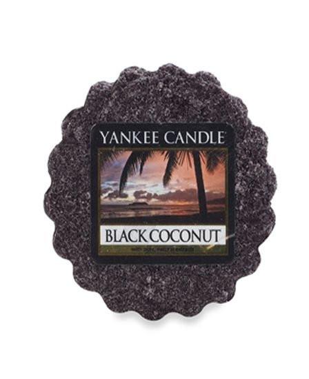 Aromatický vosk, Yankee Candle Black Coconut, provonění až 8 hod-644