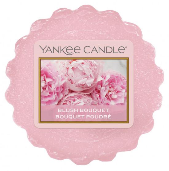 Aromatický vosk, Yankee Candle Blush Bouquet, provonění až 8 hod