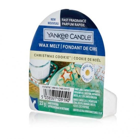Aromatický vosk, Yankee Candle Christmas Cookie, nový, provonění až 8 hod-4988