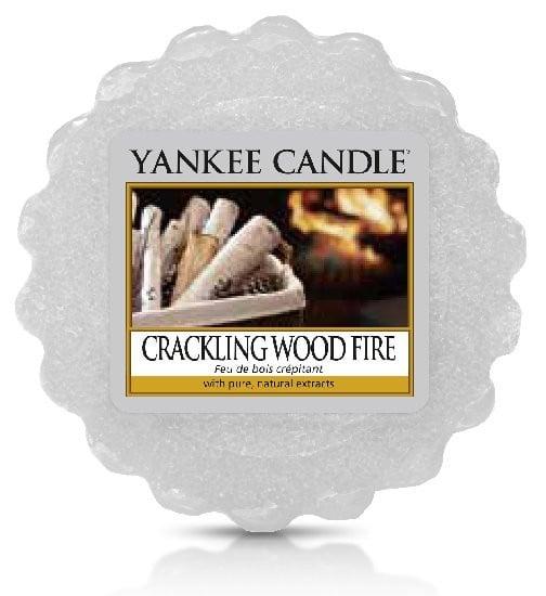 Aromatický vosk, Yankee Candle Crackling Wood Fire, provonění až 8 hod