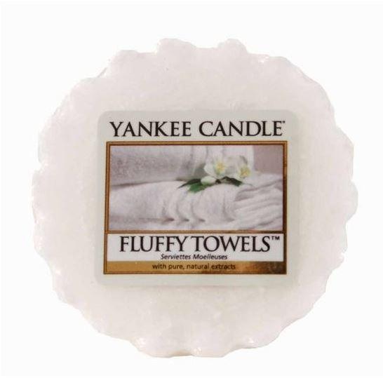 Aromatický vosk, Yankee Candle Fluffy Towels, provonění až 8 hod-4995