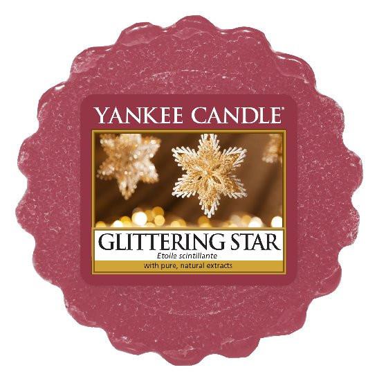 Aromatický vosk, Yankee Candle Glittering Star, provonění až 8 hod