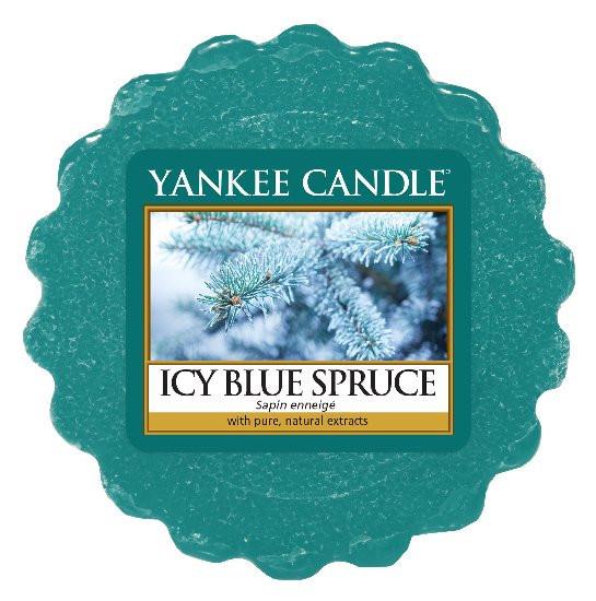 Aromatický vosk, Yankee Candle Icy Blue Spruce, provonění až 8 hod-373