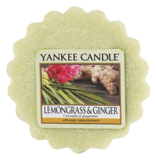 Aromatický vosk, Yankee Candle Lemongrass & Ginger, provonění až 8 hod