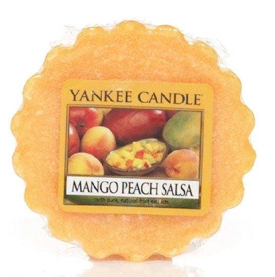 Aromatický vosk, Yankee Candle Mango Peach Salsa, provonění až 8 hod
