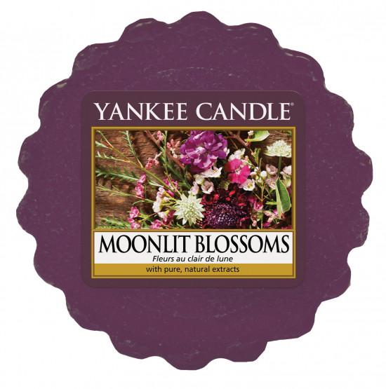Aromatický vosk, Yankee Candle Moonlight Blossoms, provonění až 8 hod-180