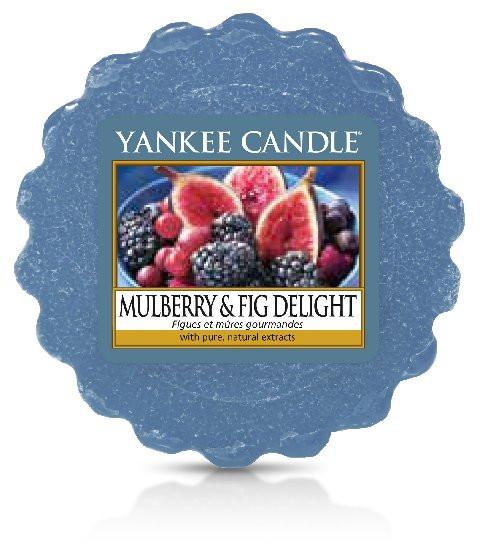 Aromatický vosk, Yankee Candle Mulberry & Fig Delight, provonění až 8 hod-118