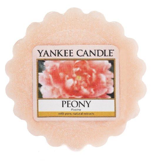 Aromatický vosk, Yankee Candle Peony, provonění až 8 hod
