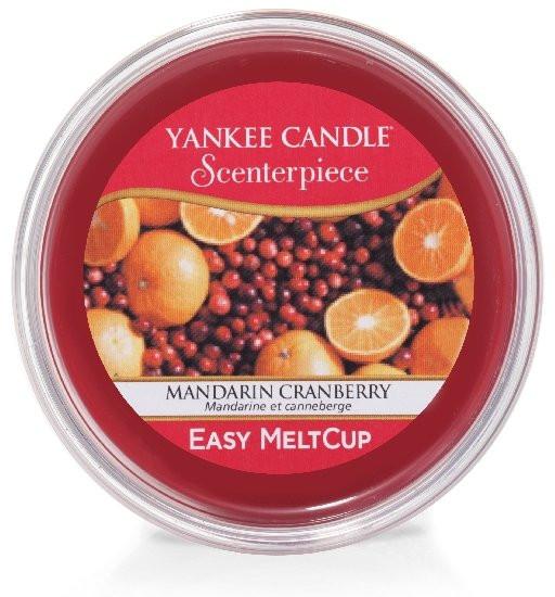 Aromatický vosk, Yankee Candle Scenterpiece Mandarin Cranberry, provonění okolo 24 hod