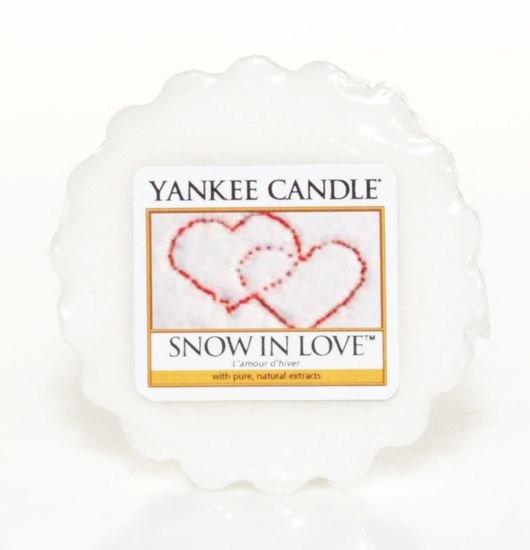 Aromatický vosk, Yankee Candle Snow in Love, provonění až 8 hod-846