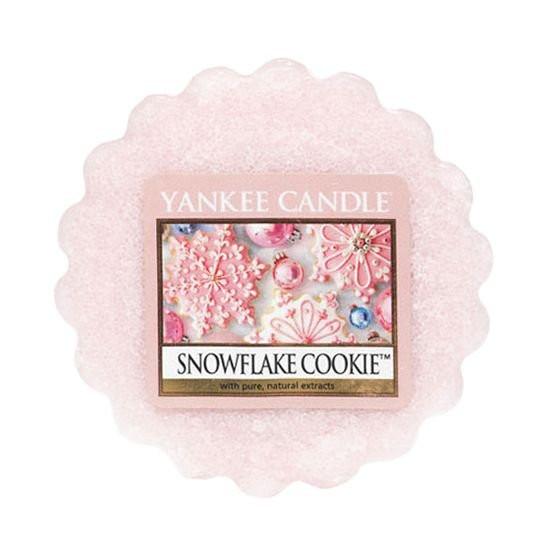 Aromatický vosk, Yankee Candle Snowflake Cookie, provonění až 8 hod