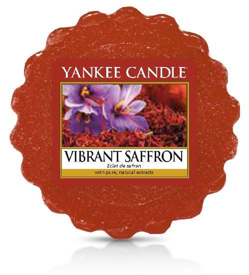 Aromatický vosk, Yankee Candle Vibrant Saffron, provonění až 8 hod
