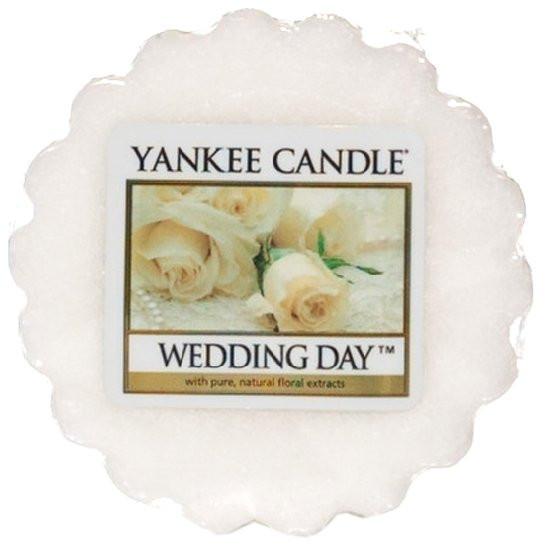 Aromatický vosk, Yankee Candle Wedding Day, provonění až 8 hod-300