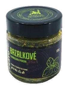 Bazalkové pesto, Hradecké delikatesy, 170 g-5543