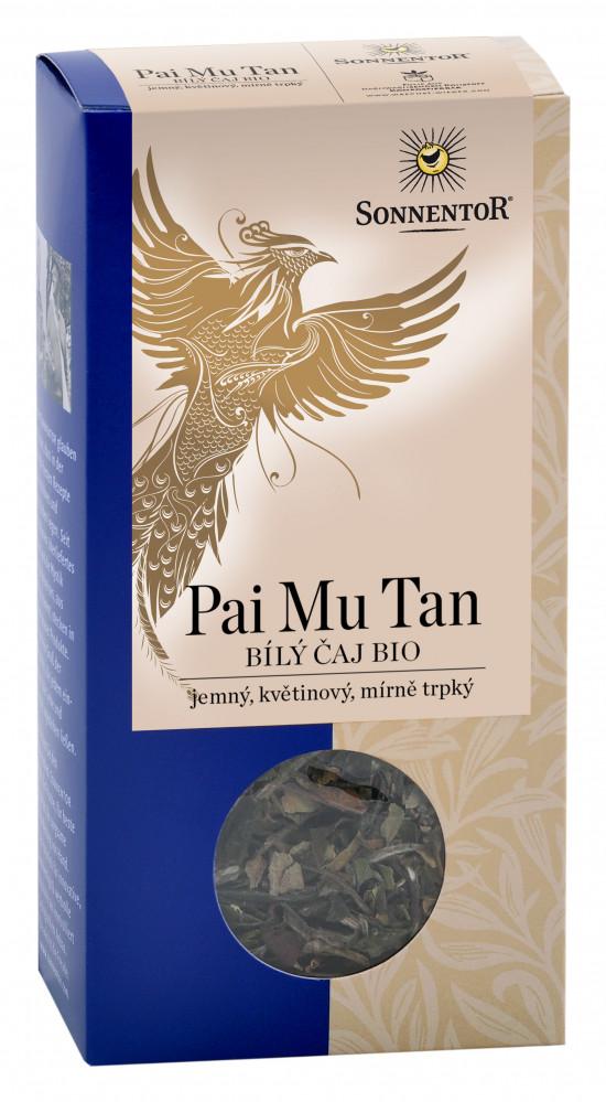 BIO bílý čaj, Sonnentor Pai Mu Tan, sypaný, 40 g